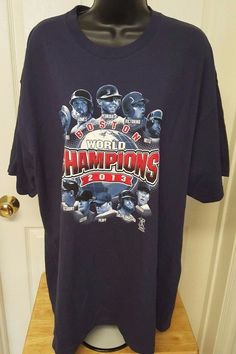 Delta NWT Unisex Boston Red Sox World Champions 2013 T-Shirt Size 2XL #Delta #BostonRedSox