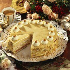 Marzipan-Torte Rezept   LECKER