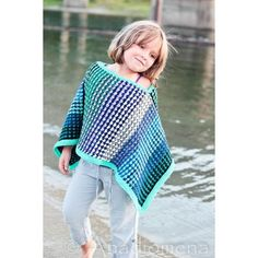 Ice Queen Poncho Knitting pattern by Elena Nodel | Knitting Patterns | LoveKnitting