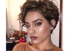 23 Beautiful Pixie Curly Hairstyles 2017