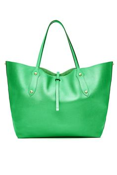 Annabel Ingall Large Isabella Tote Sea Green