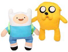 Peluches y almohadillas de Adventure Time