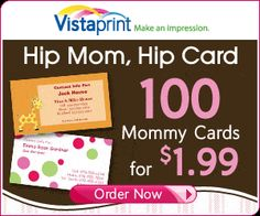 Mommy Cards -- brilliant!