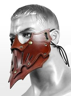 Shadow Assassin Mask brown