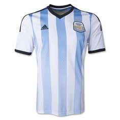 Argentina national team 2014 Home Soccer Jersey  1402291600   66bde9085