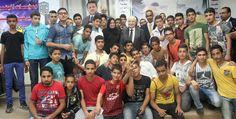 خلال لقائه لأبناء مخيم الوحدات في ذكرى النكبة طلال أبوغزاله: النجاح قرار شخصي والمعاناة نعمة تحقق هذا القرار