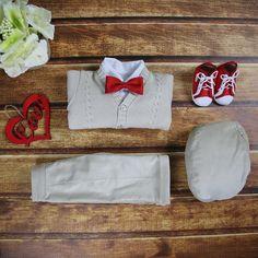 Special Occasion Boys Outfit Beige – BabyUniqueCorn