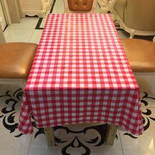 Casa de Plástico PVC Toalha De Mesa Oilproof À Prova D' Água não Lavável Anti Café Quente Tischdecke Toalhas de Mesa toalha de mesa de natal(China)