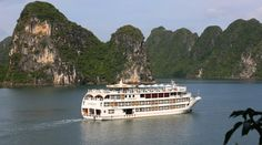 Starlight Cruise is a truly remarkable ship as she offers the luxury of more spaces than any other cruise ship on Halong Bay as well as features elegantly decorated cabins and public areas. The ship's 32 spacious staterooms feature all the high-end amenities of a five-star hotel of international standard.