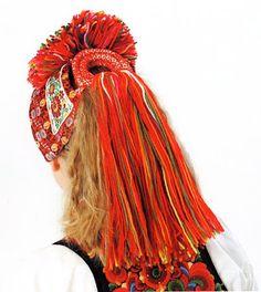 FolkCostume&Embroidery: Overview of Norwegian Costumes, part The eastern heartland Folk Costume, Costumes, Norwegian Clothing, Embroidered Caps, Heartland, Headgear, Headdress, Norway, Scandinavian