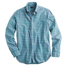 Secret Wash shirt in pink and green check, @Justin Lashley this would look great on you! :)