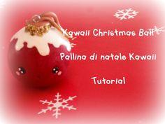 Kawaii Christmas Ornament Polymer Clay Tutorial