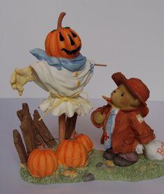"Sammelfigur - Cherished Teddies - KENNY - ""Autumn Friends Are Frightfully Friendly"""
