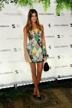 Bianca Brandolini D'Adda wearing Dolce&Gabbana