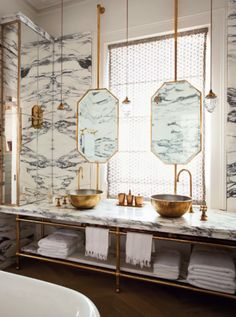 10 Tricks to Steal From Hotel Bathrooms marble intensity with white walls