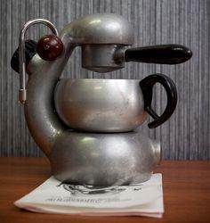 Original Atomic Espresso / Capuccino maker.  Made in Italy. Circa 1960.