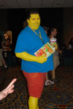 Simpsons Cosplay, Easy Halloween Costume Idea