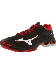 3e0d60838d Mizuno Wave Lightning Z4 Volleyball Shoe - 8.5M - Black   White   Red