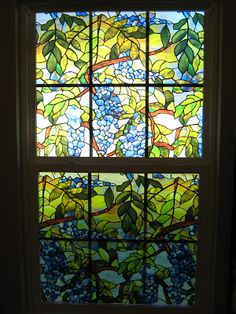 Fake-It Frugal: Fake Stained Glass Window