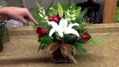 unique christmas floral arrangements - Google Search