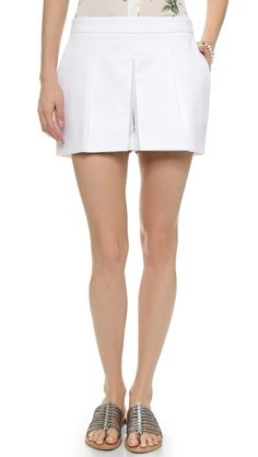 Joie Zorion Pleated Shorts Pleated Shorts, Your Style, Casual Shorts, Short Dresses, Fabric, Cotton, Fashion Design, Shopping, Clothes