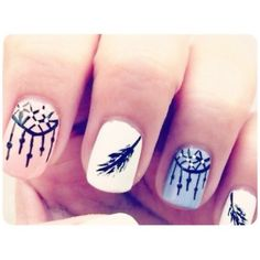 Dream Catcher nails OMG these are awesome <3
