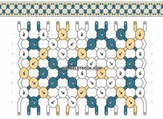 Friendship Bracelet Pattern - - The Effective Pictures We Offer You About boho Friendship Bracelet A quality picture can tell you many Diy Bracelets With String, String Bracelet Patterns, Yarn Bracelets, Diy Bracelets Easy, Embroidery Bracelets, Bracelet Crafts, Ankle Bracelets, Friendship Bracelets With Names, Diamond Friendship Bracelet