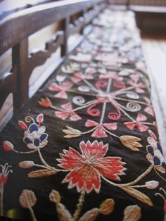 Pretty sideboard embroidery :)