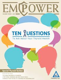 In Volume 7 Issue 1: All about Hashimoto's Thyroiditis,Ten Questions to Ask About Your Thyroid Health, Thyroid Hormones and Body Weight Issues, Addison's Disease and more!