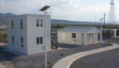 Vista de la villa STACK Casas hechas con Acero