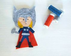 """Pupazzetto """"Thor"""""""