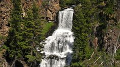 There's only one place to go when you're trying to see the best waterfalls in Wyoming! Take this road trip through Yellowstone National Park to find them. Yellowstone National Park, National Parks, Wyoming Vacation, Perfect Road Trip, Old Faithful, Beautiful Waterfalls, Haunted Places, Places To Go, Hiking