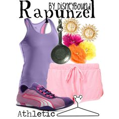 """Rapunzel"" by lalakay on Polyvore #disney"
