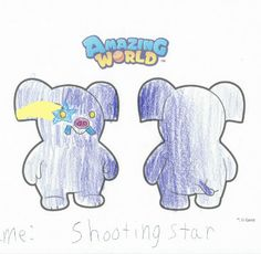 This little zing loves space and you Shooting Stars, Design Your Own, Smurfs, Space, Gallery, Amazing, Fictional Characters, Art, Falling Stars