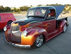 Afternoon Drive: Hot Rods and Rat Rods (29 Photos) - rat rod hot rod cars 1946 Chevy Truck, Classic Chevy Trucks, Chevrolet Trucks, Classic Cars, Antique Trucks, Vintage Trucks, Antique Cars, Vintage Toys, Station Wagon