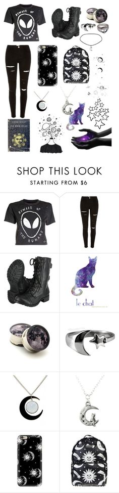 """""""The Book Of Lies"""" by sup-its-alex-peace ❤ liked on Polyvore featuring Disturbia, Casetify and Killstar"""