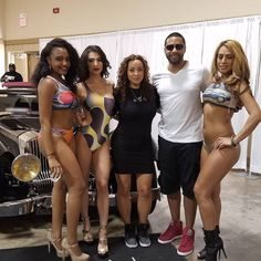 It's always great to see my friend @LilaNikole & her fantastic models.  I'm so happy for & proud of her.  She has worked so hard to grow her empire & she's made her dreams a reality!  Ladies make sure you check out her page for the best ladies swimwear in the game  #inspired #Models #swimwear #Sexy #Miami #LowRider