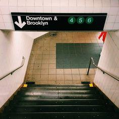 Imagem de Brooklyn, subway, and new york Imagem de Brooklyn, U-Bahn und New York Living In New York, City Living, Photographie New York, New York City, Urbane Fotografie, Broad City, S Bahn, Empire State Of Mind, Miles Morales