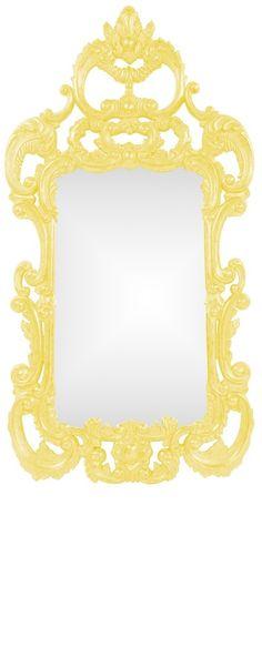 Wall Mirrors, Tangerine Orange Baroque Mirror, so beautiful, one of ...