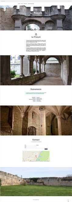 Le Prieuré | Church French Websites, Web Design, Social Media, Explore, Design Web, Social Networks, Website Designs, Social Media Tips, Site Design