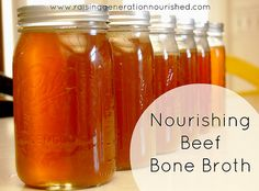 Nourishing Beef Bone Broth by Raising Generation Nourished, via Flickr
