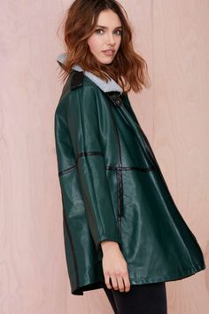 Nightwalker Kape Coat at Nasty Gal
