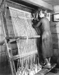 Ancient Icelandic Loom