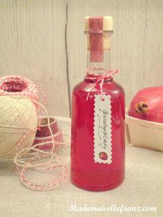 Vinaigre aromatisé à la grenade