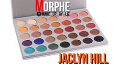 Warm Golden Brownish Shimmer Jaclyn Hill X Morphe Palette