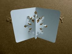 Pop Up Snowflake Card Tutorial - Origamic Architecture