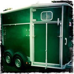 Ifor Williams Double Horse Trailer In Green