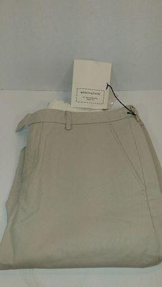 Maison Kitsune Pants, Style 040PC, Color Beige, Made in Italy, Size 33, Mens #MaisonKitsune #040PC
