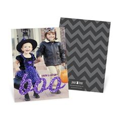 New #Halloween photo cards from #peartreegreetings! #spooky #party