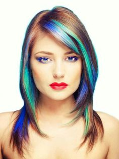 Cool hair coloring